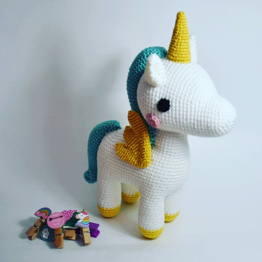 Amigurumipatterns.net - Creations - Robin Unicorn from Animal ... | 921x921