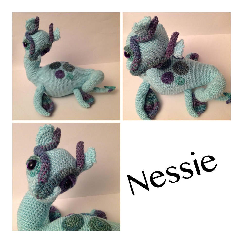 Ravelry: Nessie pattern by 26 Donuts | 2048x2048