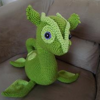 Crochet yourself a soft and cuddly Loch Ness monster! I am pleased ... | 400x400