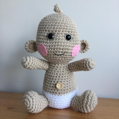 Amigurumi Crochet Toy - Mini Teddy Bear 7
