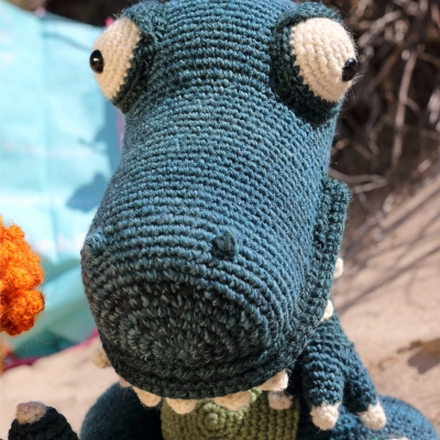 How to crochet an Hippo | World Of Amigurumi - YouTube | 400x400