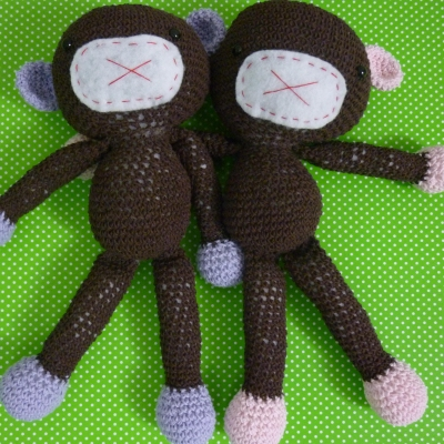 New Crochet Pattern: Monkey Business | KNITS FOR LIFE | 400x400