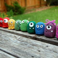 Baby Monsters amigurumi crochet pattern