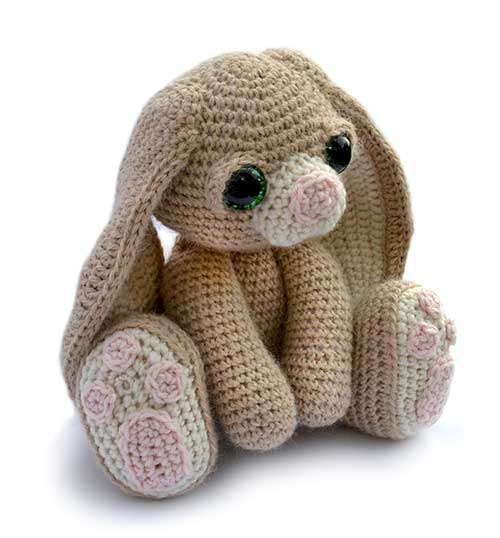 Amigurumi Pattern Rabbit : Benedict the bunny amigurumi pattern - Amigurumipatterns.net