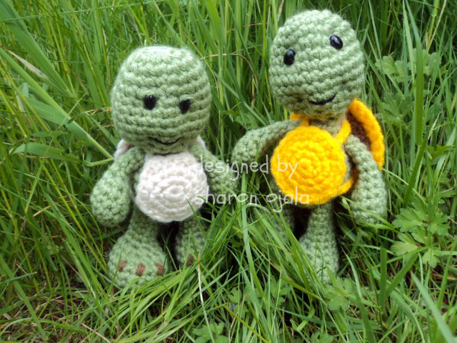 Bigfoot Turtle - Free amigurumi pattern