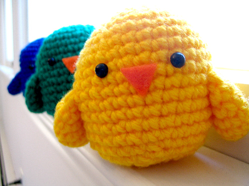 Crochet Amigurumi Birds : Birds of a Feather - Free amigurumi pattern