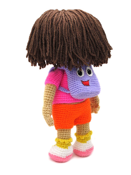 Knitting Pattern For Dora The Explorer Doll : Dora the explorer amigurumi pattern - Amigurumipatterns.net