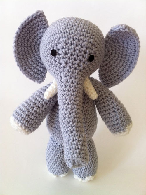 Free Crochet Patterns Elephant : E is for Elephant amigurumi pattern - Amigurumipatterns.net
