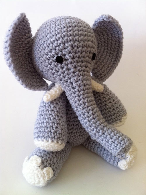 Amigurumi Elephant Free Pattern : E is for Elephant amigurumi pattern - Amigurumipatterns.net