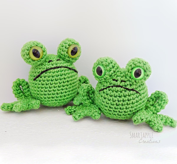 fred the frog free amigurumi pattern. Black Bedroom Furniture Sets. Home Design Ideas