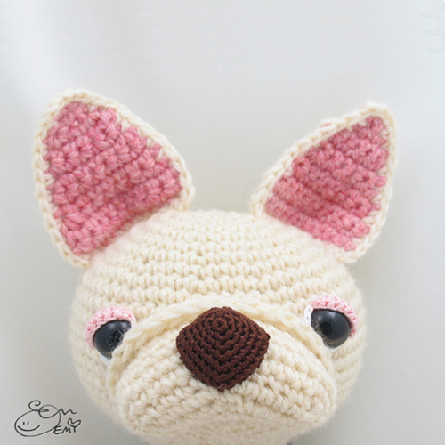 Crepe the French Bulldog amigurumi pattern ...
