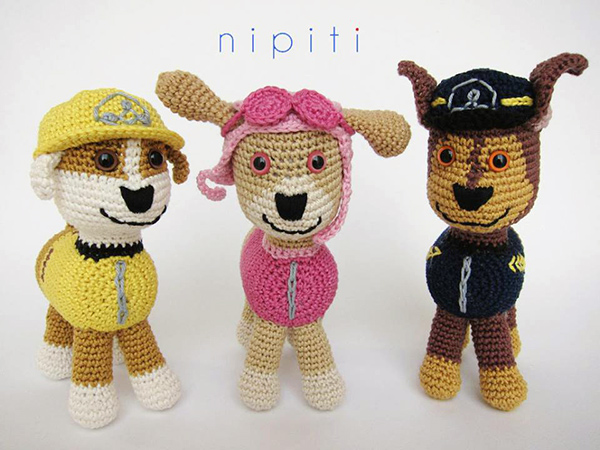 Crochet Patterns Paw Patrol : ... .net > patterns > nipitis patterns > Paw patrol puppies