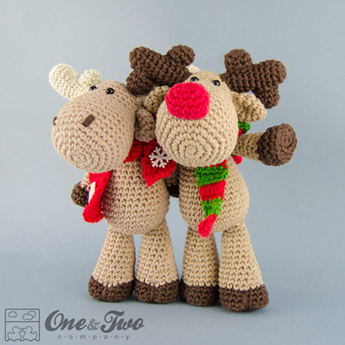 Reindeer and Moose amigurumi pattern - Amigurumipatterns.net