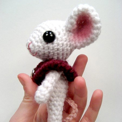 Stella the Mouse amigurumi by sarsel