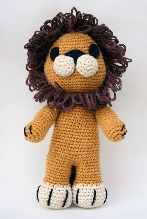 Amigurumi Free Patterns Lion : Tremblay the lion - Free amigurumi pattern
