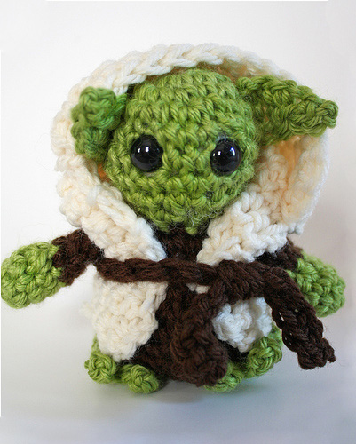Crochet Patterns Yoda : Amigurumipatterns.net > Cartoons & Games > Yoda