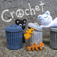 Alley Cats amigurumi pattern by StripeysPatterns