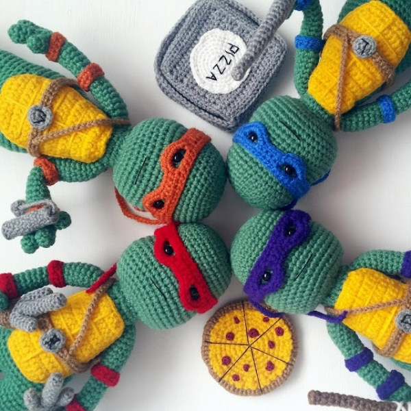 Sea Turtle Crochet Free Pattern Amigurumi Animal #crochet ... | 600x600