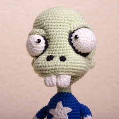 Zombie Captain America amigurumi by Ds_mouse