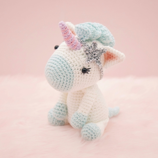 Aurora The Unicorn Amigurumi Pattern Amigurumipatternsnet Enchanting Unicorn Crochet Pattern