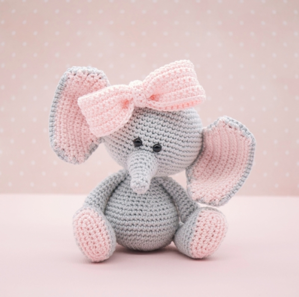 The Sweetest Crochet Elephant Patterns To Try | The WHOot | 597x600