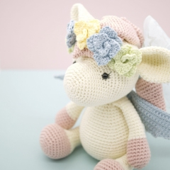 Harriet the Pegasus amigurumi by LittleAquaGirl