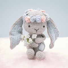 Matilda the Bunny amigurumi by LittleAquaGirl