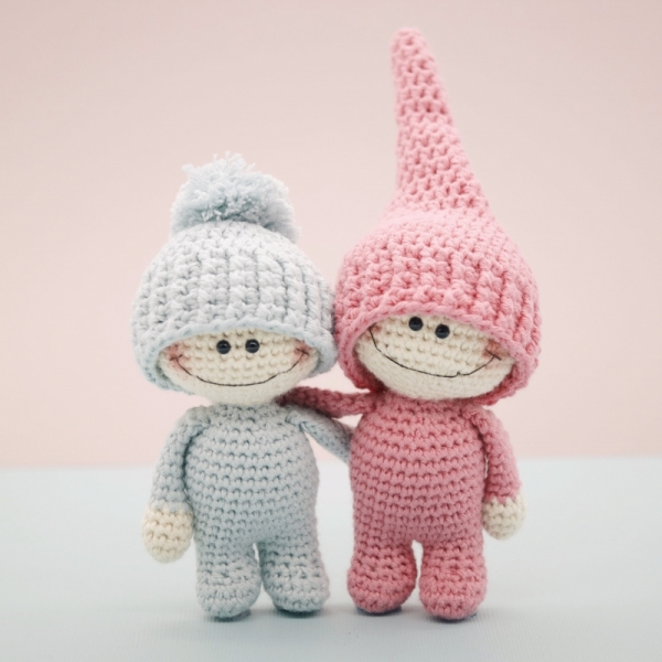 Amigurumi Japanese Patterns Free : The Little Doodahs Wilbur and Bertie amigurumi pattern ...