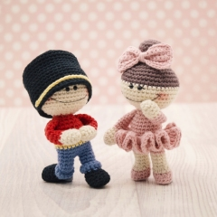 The Little Nutcracker Doodahs amigurumi by LittleAquaGirl