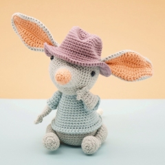 William the Bilby amigurumi pattern by LittleAquaGirl