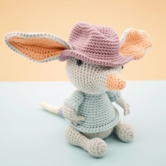 William the Bilby amigurumi by LittleAquaGirl