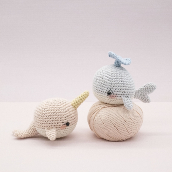 Willy And Nelly The Whale Cousins Amigurumi Pattern
