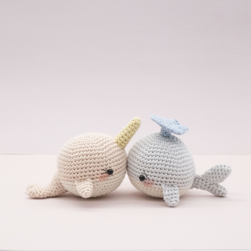 Willy And Nelly The Whale Cousins Amigurumi Pattern Custom Whale Pattern