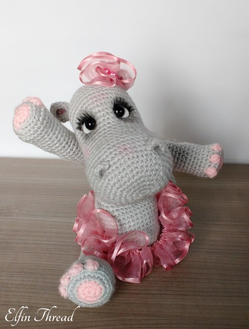 Happiness the Hippo amigurumi pattern - Amigurumipatterns.net