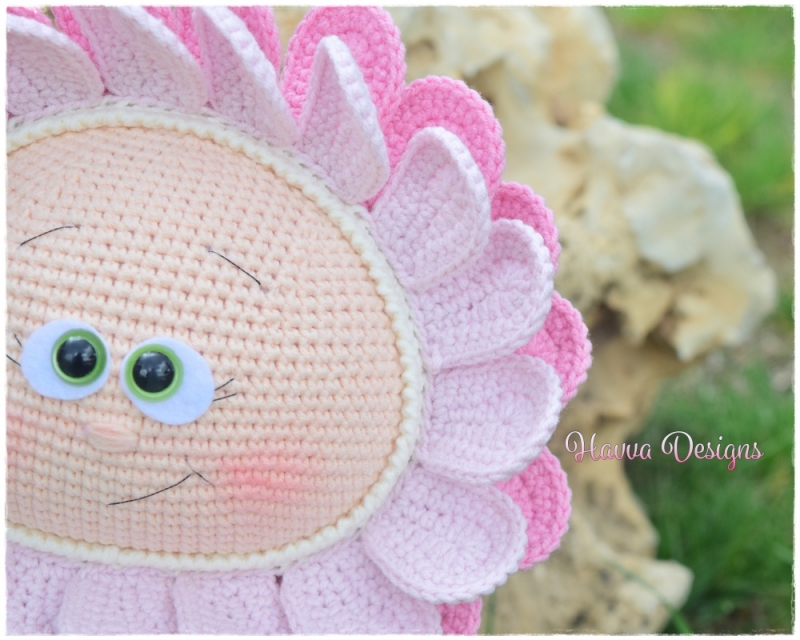 Amigurumi Flower Free Pattern : Bonnie With Flower Costume amigurumi pattern ...