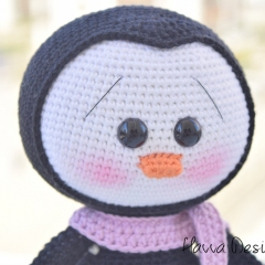 Cute Penguin amigurumi pattern by Havva Designs