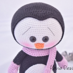 Cute Penguin amigurumi by Havva Designs