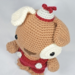 Patch the Puppy amigurumi by YOUnique crafts