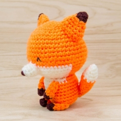 Kito the Fox amigurumi pattern by Snacksies Handicraft Corner