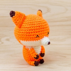 Kito the Fox amigurumi by Snacksies Handicraft Corner
