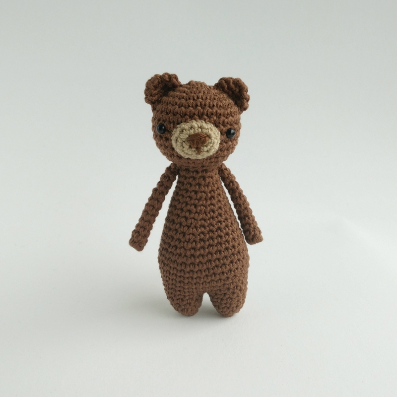 Mini Bear amigurumi pattern - Amigurumipatterns.net