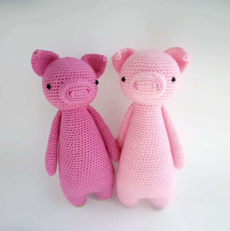 Amigurumi Pig pattern - A little love everyday! | 800x796