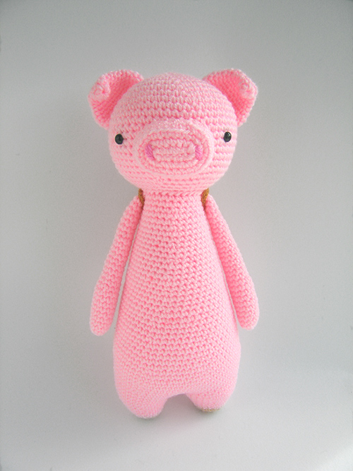 Tall pig with backpack amigurumi pattern ...