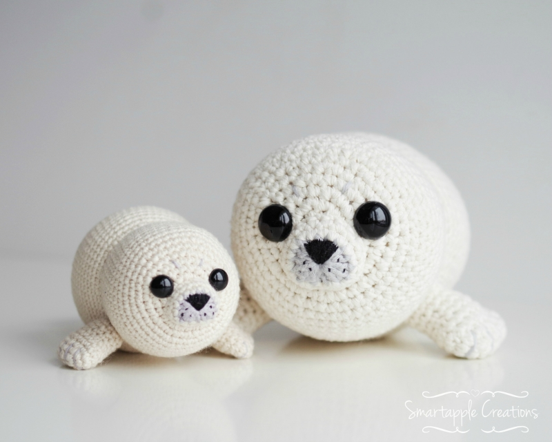 Stitch Amigurumi Crochet Pattern : Bubbly the Baby Seal amigurumi pattern - Amigurumipatterns.net
