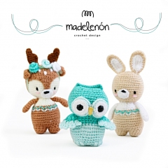 My Forest 2 amigurumi pattern by Madelenon