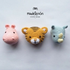 My Jungle 2 amigurumi by Madelenon