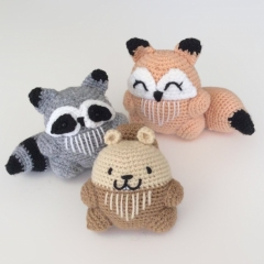 My forest amigurumi by Madelenon