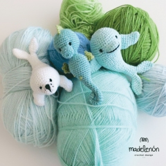 My sea amigurumi pattern by Madelenon
