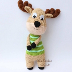 Deer amigurumi pattern by Little Bamboo Handmade