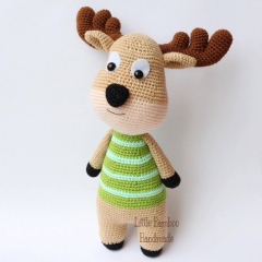 Deer amigurumi by Little Bamboo Handmade